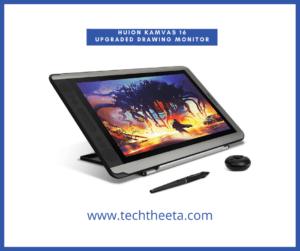3. Huion KAMVAS 16 Upgraded Drawing Monitor Pen Display Tilt Battery-Free Stylus 8192 Pressure Sensitivity GT-156HD V3 with Adjustable Stand