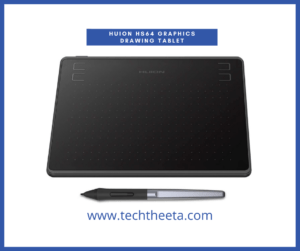 4. HUION HS64 Graphics Drawing Tablet Battery-Free Stylus Android Windows macOS with 6.3 x 4in Working Area Pen Tablet (HS64)