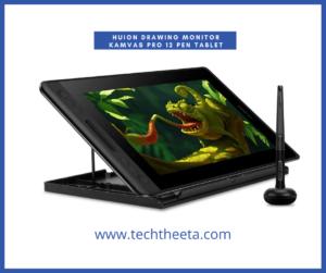 8. HUION Drawing Monitor KAMVAS Pro 12 Pen Tablet Display Tilt Battery-Free Stylus 8192 Pen Pressure 120% sRGB 11.6 inch GT-116