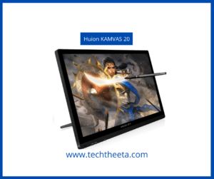 Best Drawing Tablets For Beginners 2021 Huion KAMVAS GT-191 Drawing Tablet with HD Screen 8192 Pressure Sensitivity – 19.5 Inch