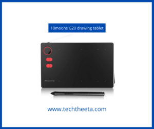 10 moons G20 drawing tablet