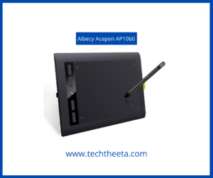 Acepen AP1060 Graphic Drawing Tablet with Passive Pen Best Drawing Tablets For Beginners 2021