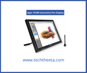 Ugee 1910B Best Drawing Tablet for Photoshop and Illustrator