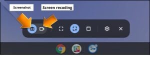 camera icon (How to Screenshot on a Chromebook)